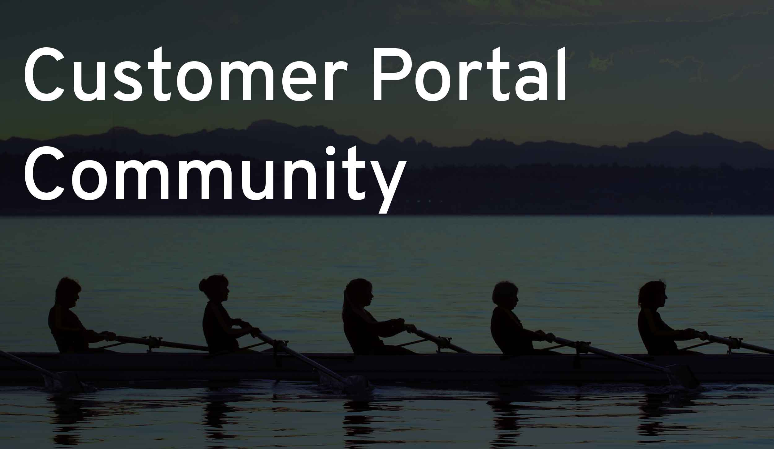 An all-new hub page for our customer community
