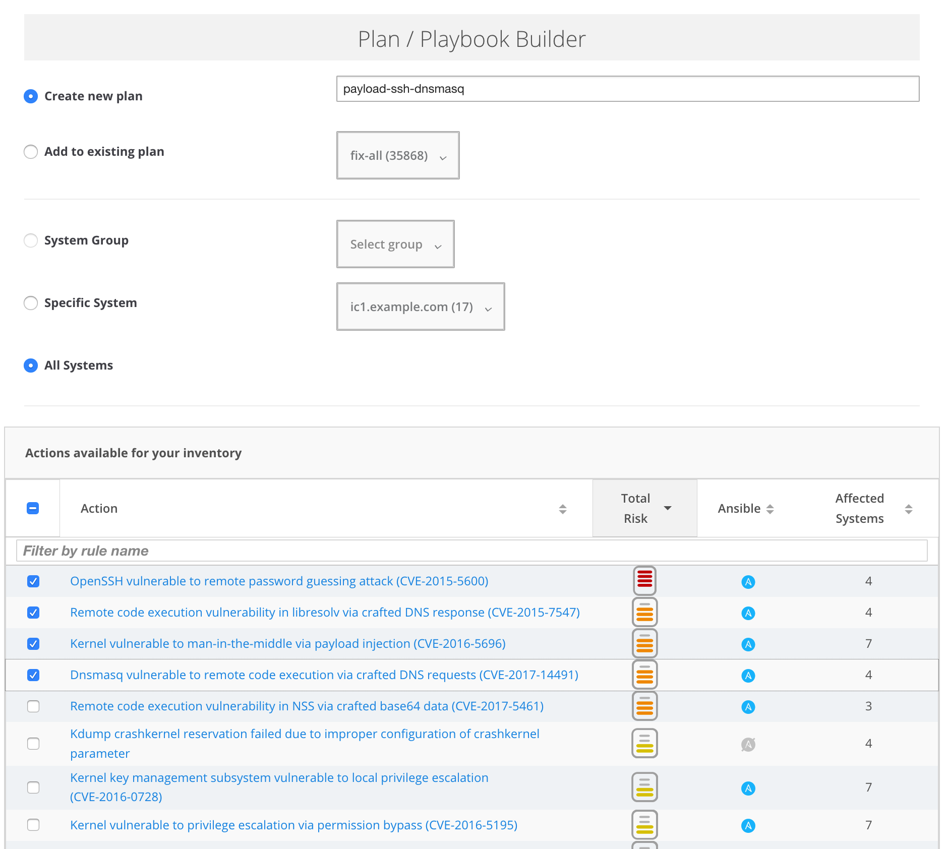 Red Hat Insights - Red Hat Customer Portal