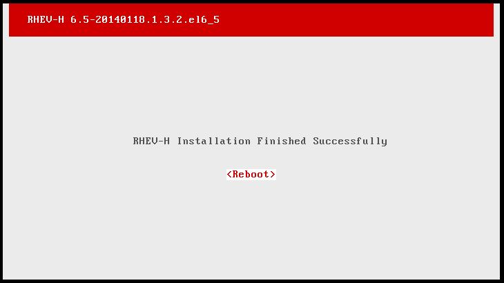 RHEV-H does not install in VMWare while oVirt - H does