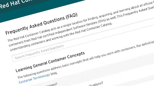Searchable FAQ Available