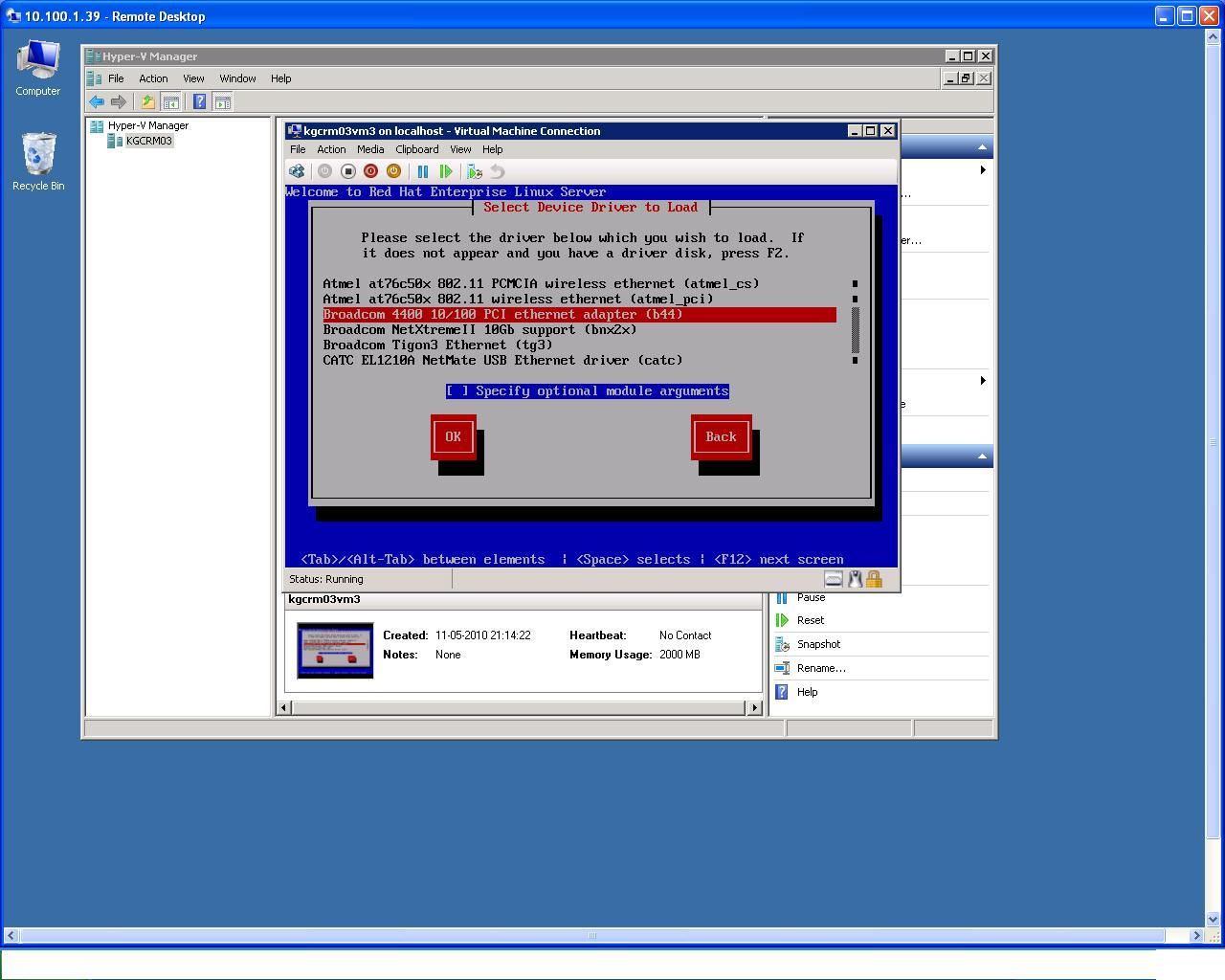 BROADCOM BNX2 RHEL5 DRIVER FOR PC