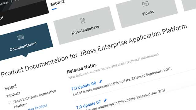JBoss documentation