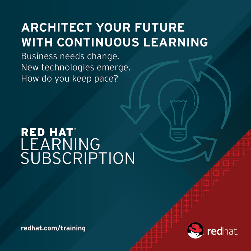 Architect your future with continuous learning