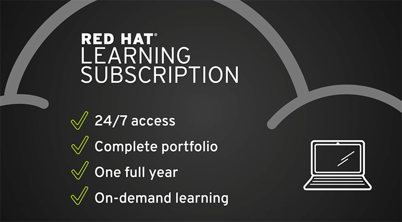 Red Hat Learning Subscription overview video