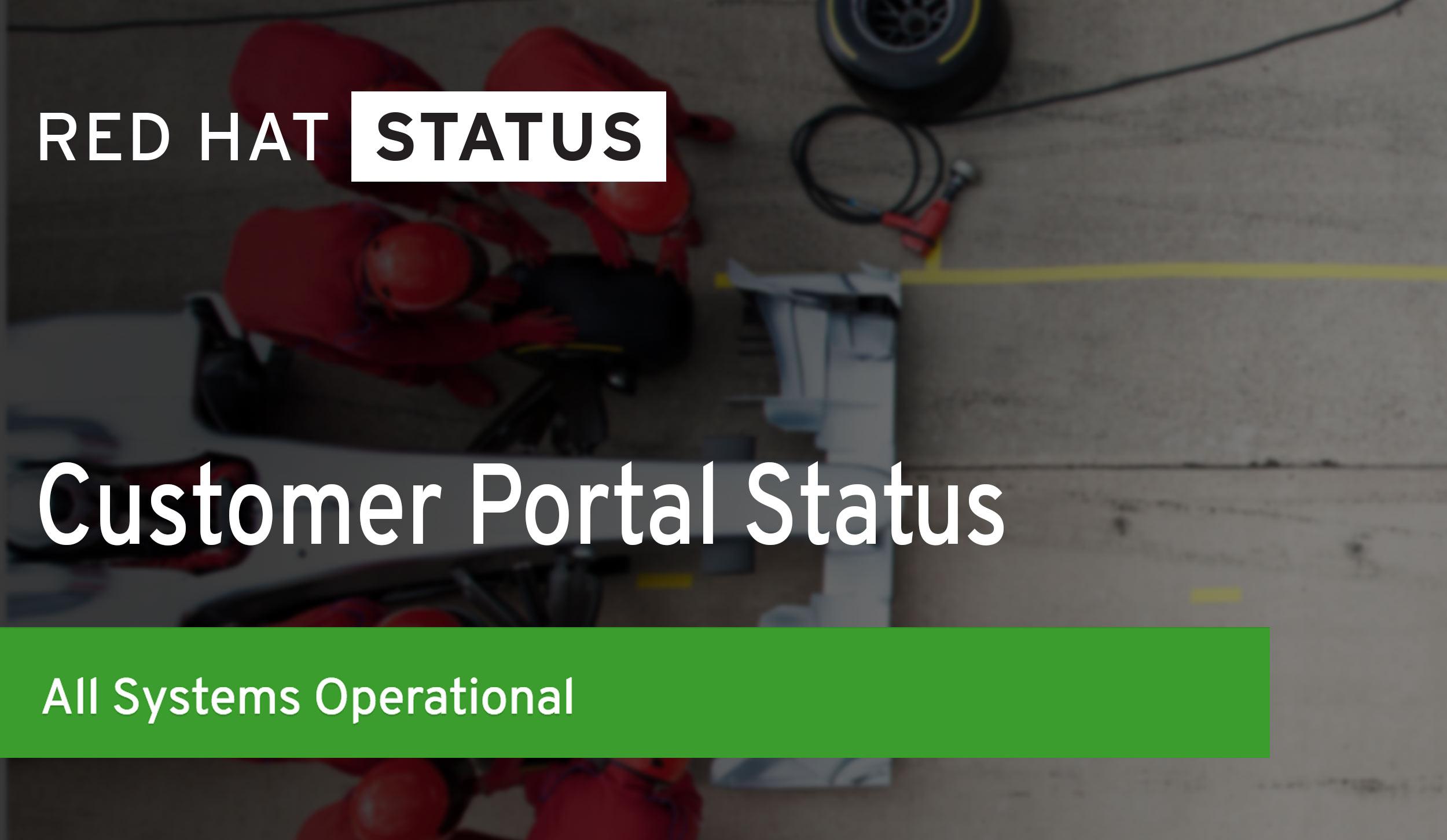 Red Hat Status