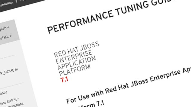Red Hat JBoss EAP 7.1