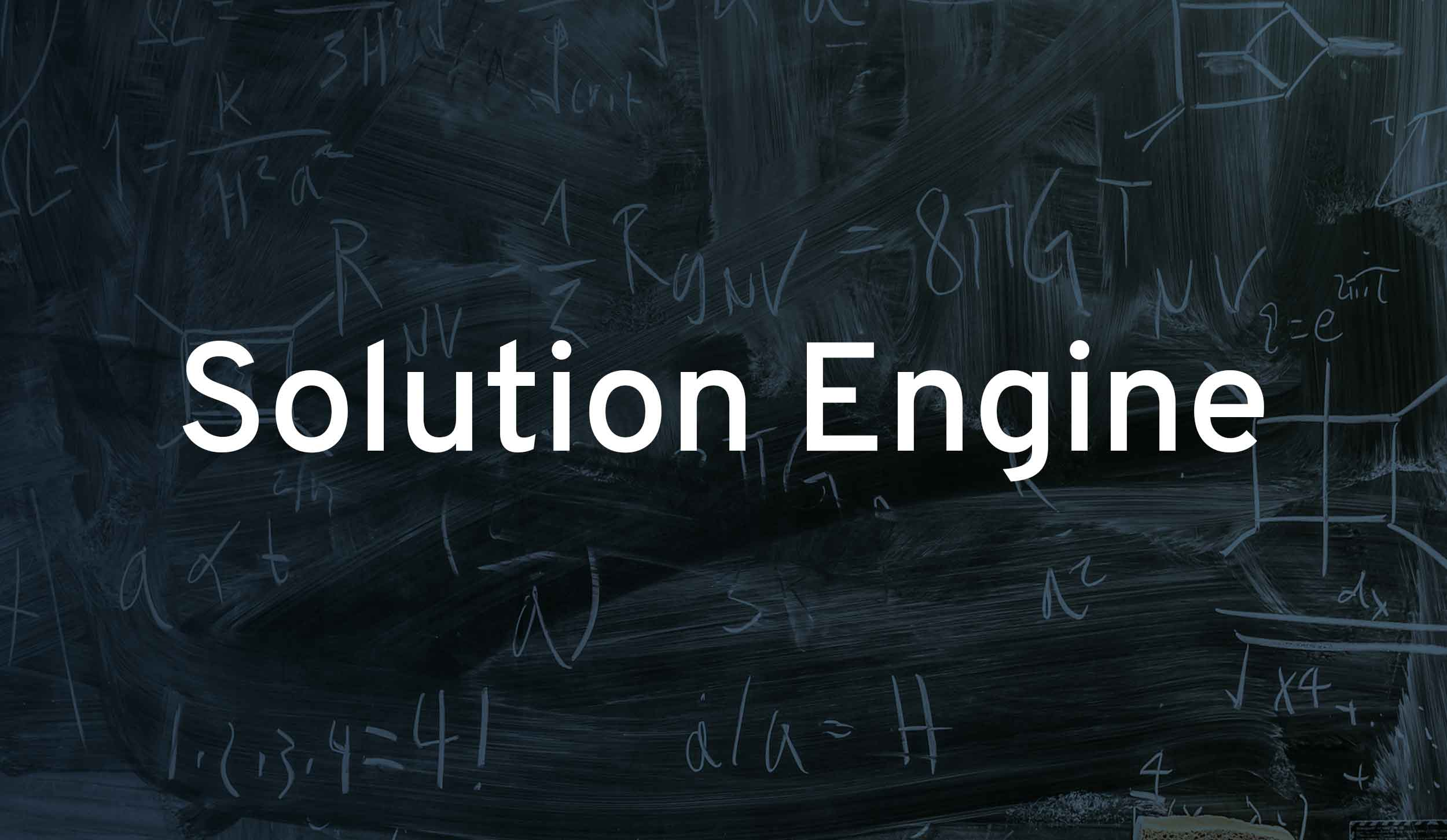 Solution Engine