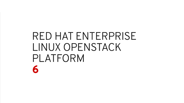 Red Hat Enterprise Linux OpenStack Platform logo