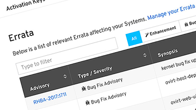 Improved Errata Search