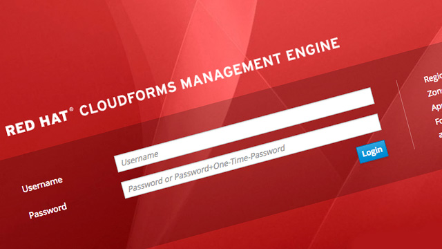 Red Hat cloudforms management engine