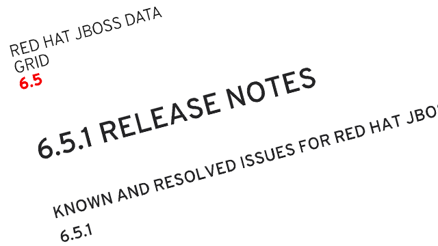 Improvements to JBoss Data Grid Documentation screenshot