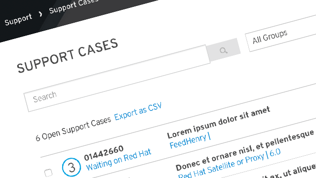 Streamlined Case Management screenshot