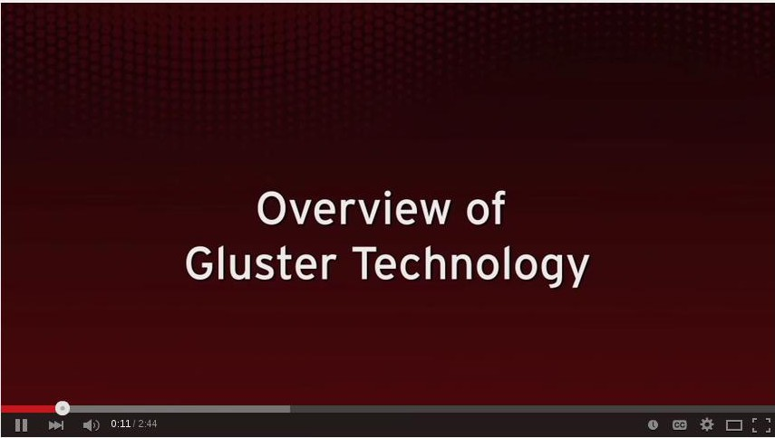 Overview of GlusterFS Technology