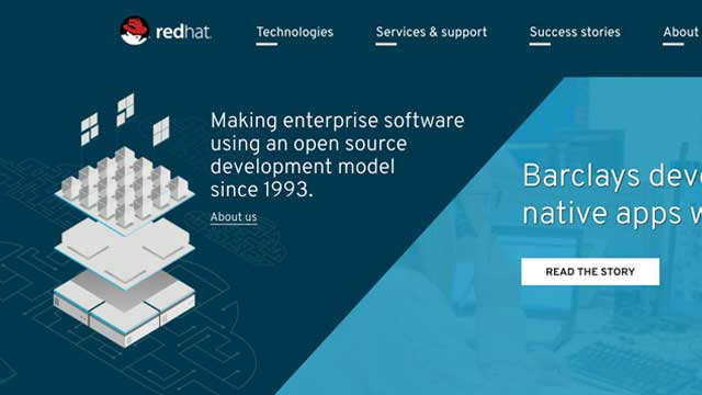 Launched next version of RedHat.com homepage