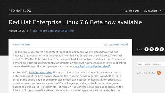 eBPF tracing in Red Hat Enterprise Linux 7.6 Beta