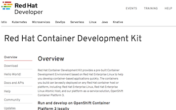 Red Hat Container Development Kit (CDK) 3.7