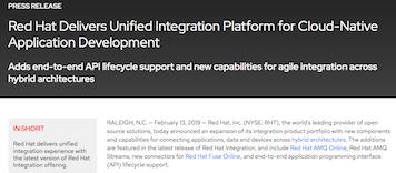 Unified integration platform for cloud-native application development