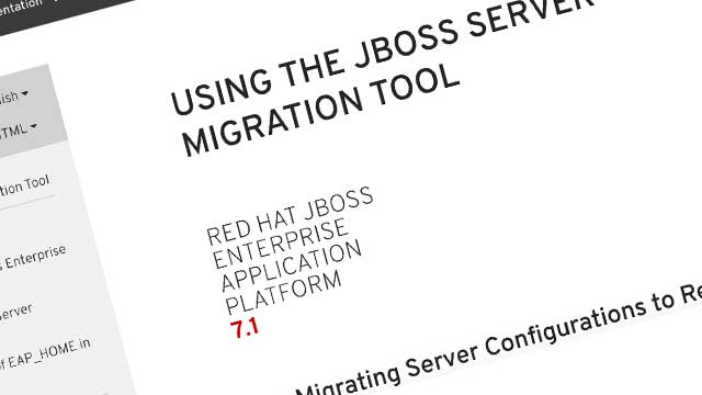Red Hat JBoss Server Migration Tool released