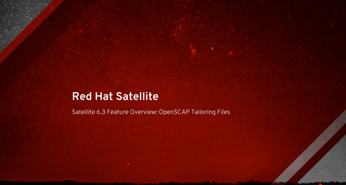 Satellite 6.3 Feature Overview: Tailoring Files Video