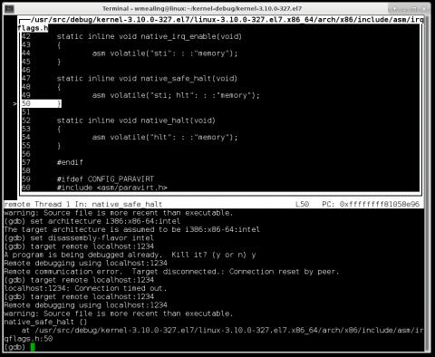 Debugging a kernel in QEMU/libvirt - Part II - Red Hat Customer Portal