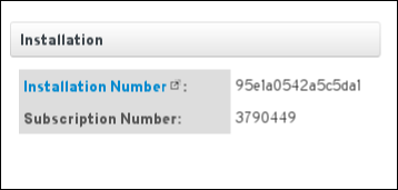 This is a screenshot of the subscription and installation numbers on the Subscriptions page.