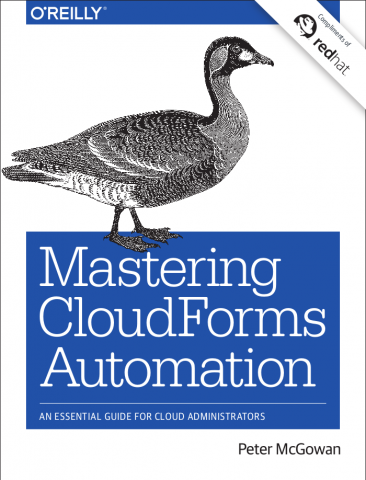 Mastering CloudForms Automation cover