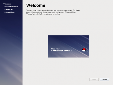 The Welcome Screen
