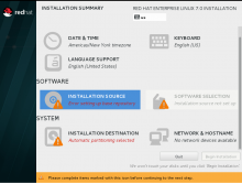 Problem in installing Redhat 7 on Vmware Workstation - Red