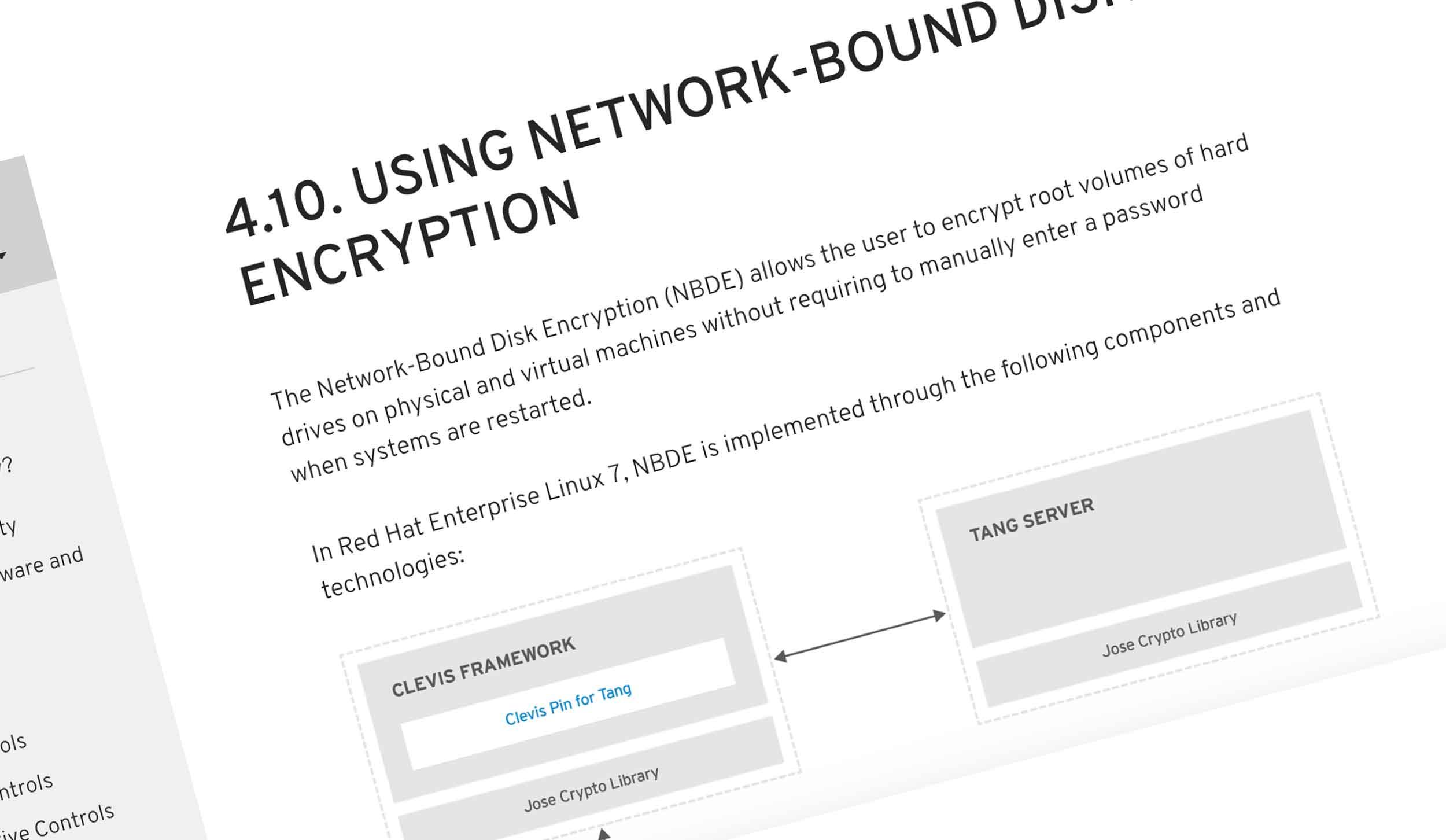 Network Bound Disk Encryption
