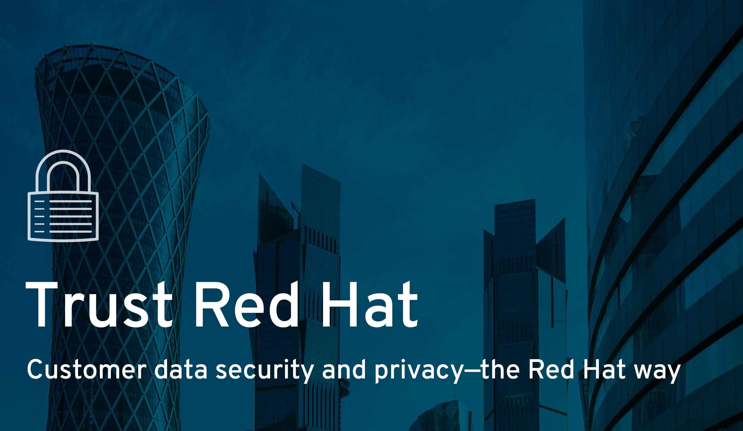 Trust Red Hat