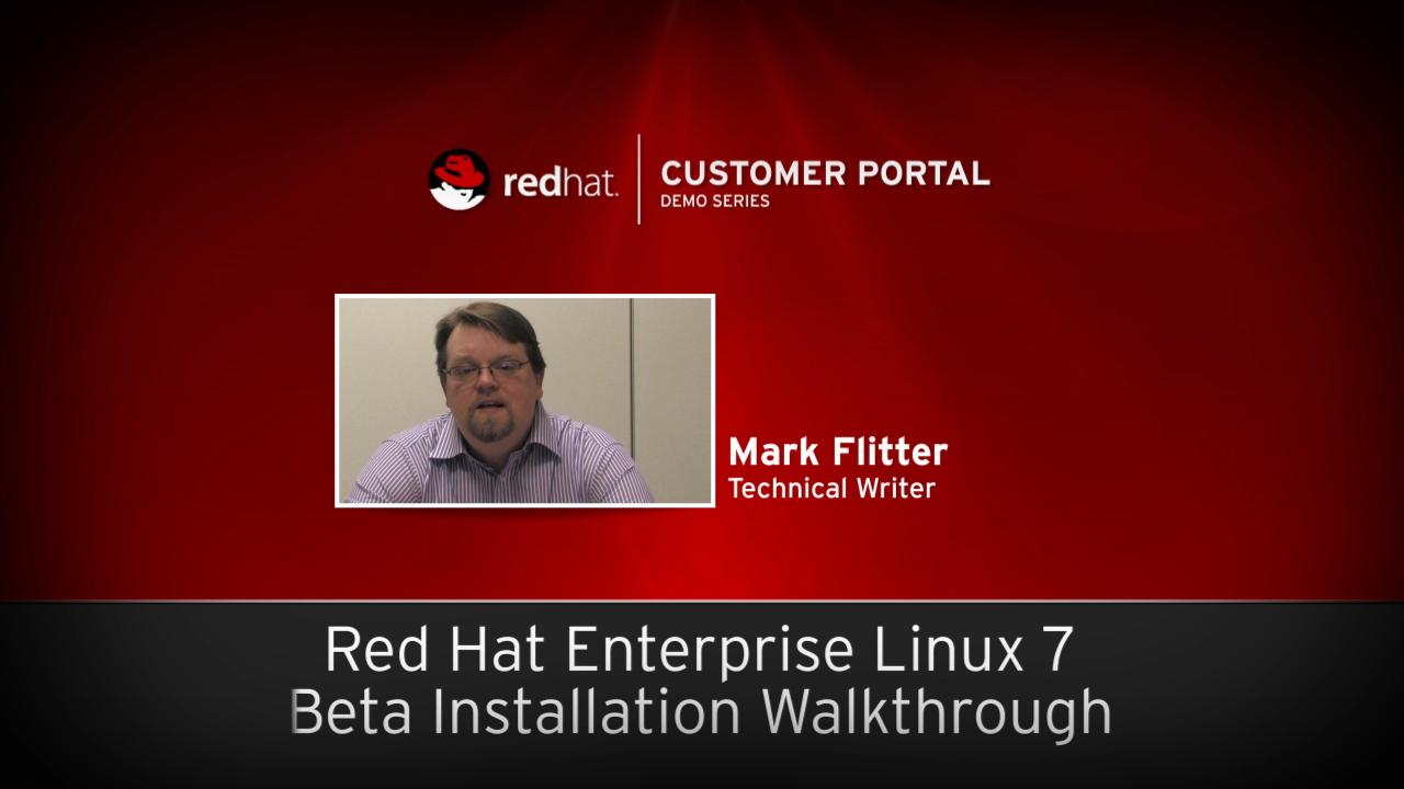 Red hat enterprise linux 7 release candidate installation red 0000 baditri Gallery