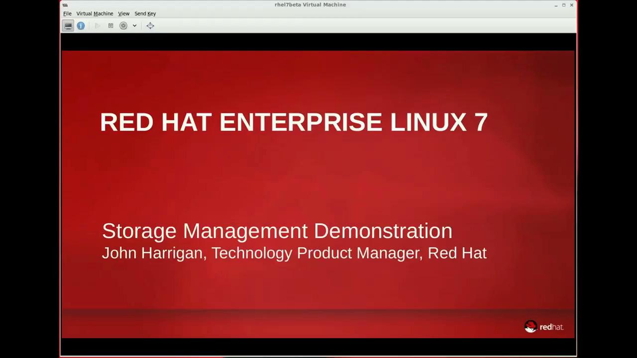 Red hat enterprise linux 7 storage management red hat customer 0000 baditri Gallery