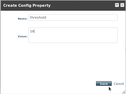 Create Admin Ojbect Configuration Property