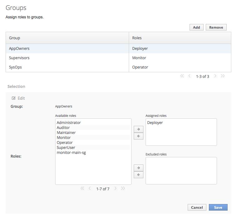 Screenshot of Selection View in Edit Mode