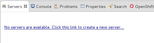 新しいサーバーの追加 - 使用できるサーバーがない場合