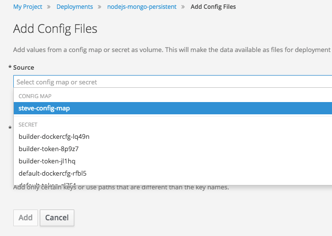 Add Config Files