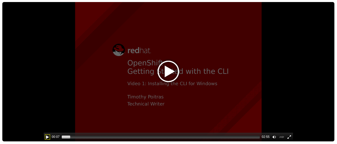 CLI Install for Windows