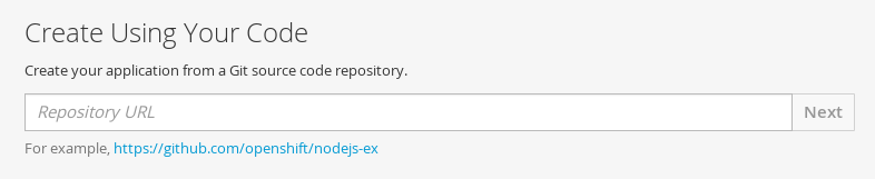 Enter Source Repository