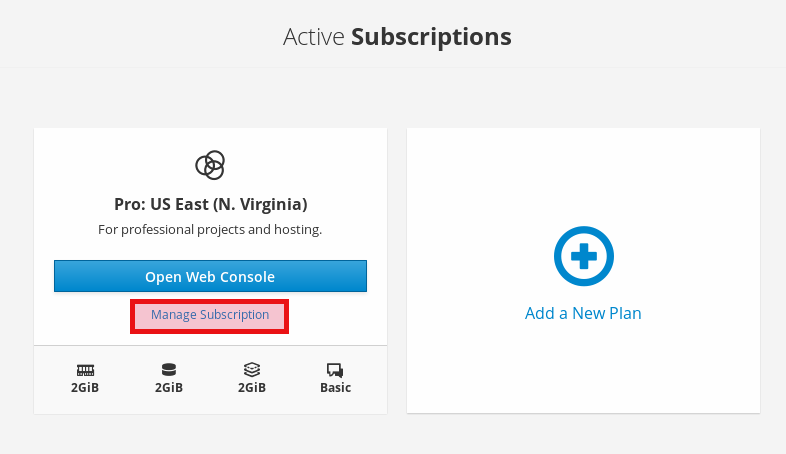 manage subscriptions collaboration