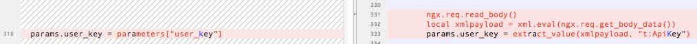 Extract user key from xml