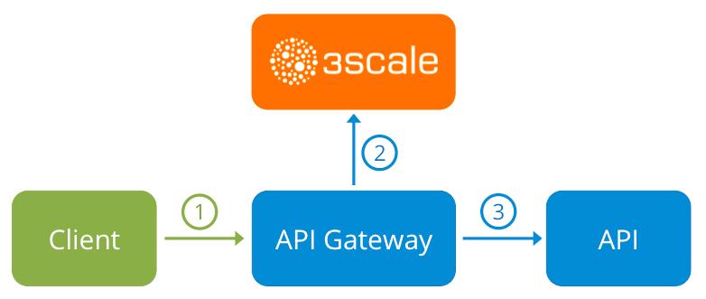 3scale Gateway Flowchart