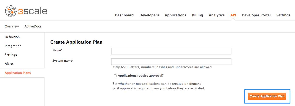 Publish new plan