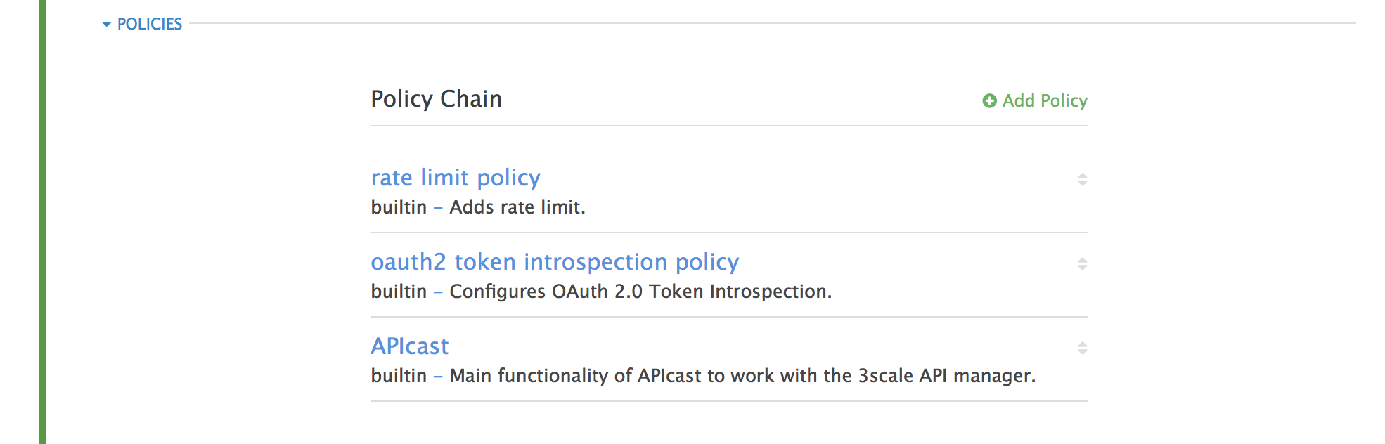 Chapter 6  APIcast Policies Red Hat 3scale API Management