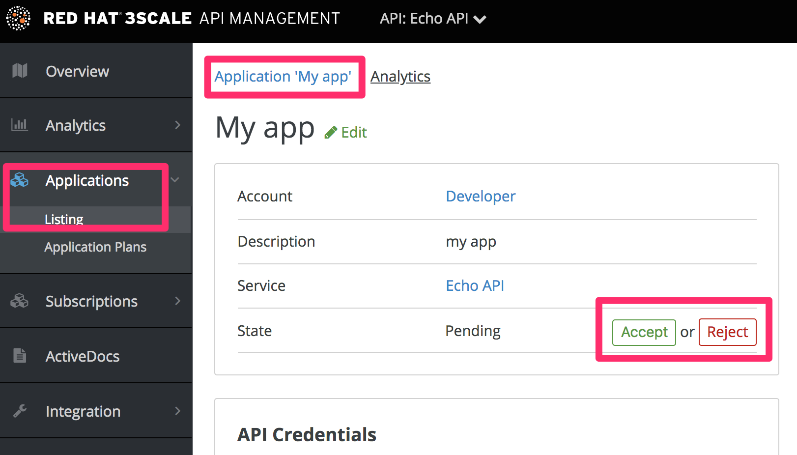 Developer individual app approval 2