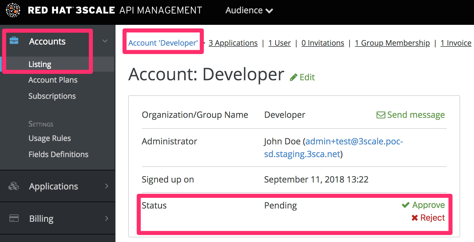 Developer individual app approval 1