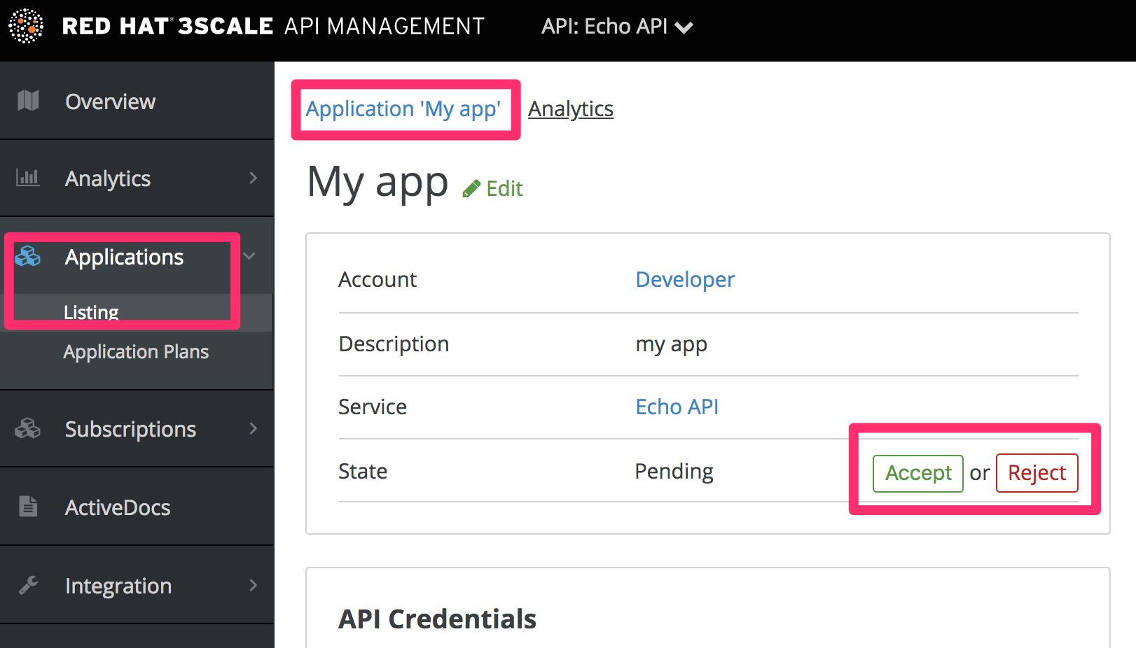 Developer individual app approval 2