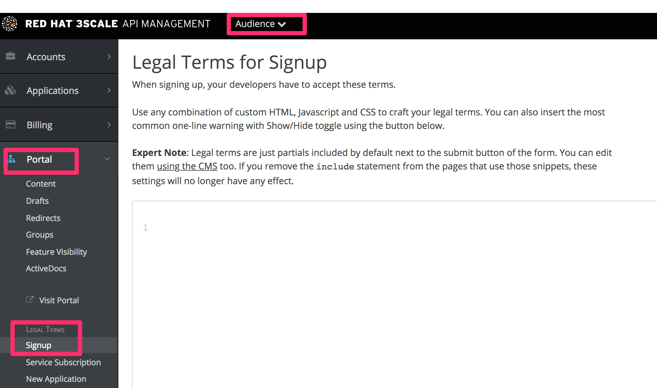Developer legal terms