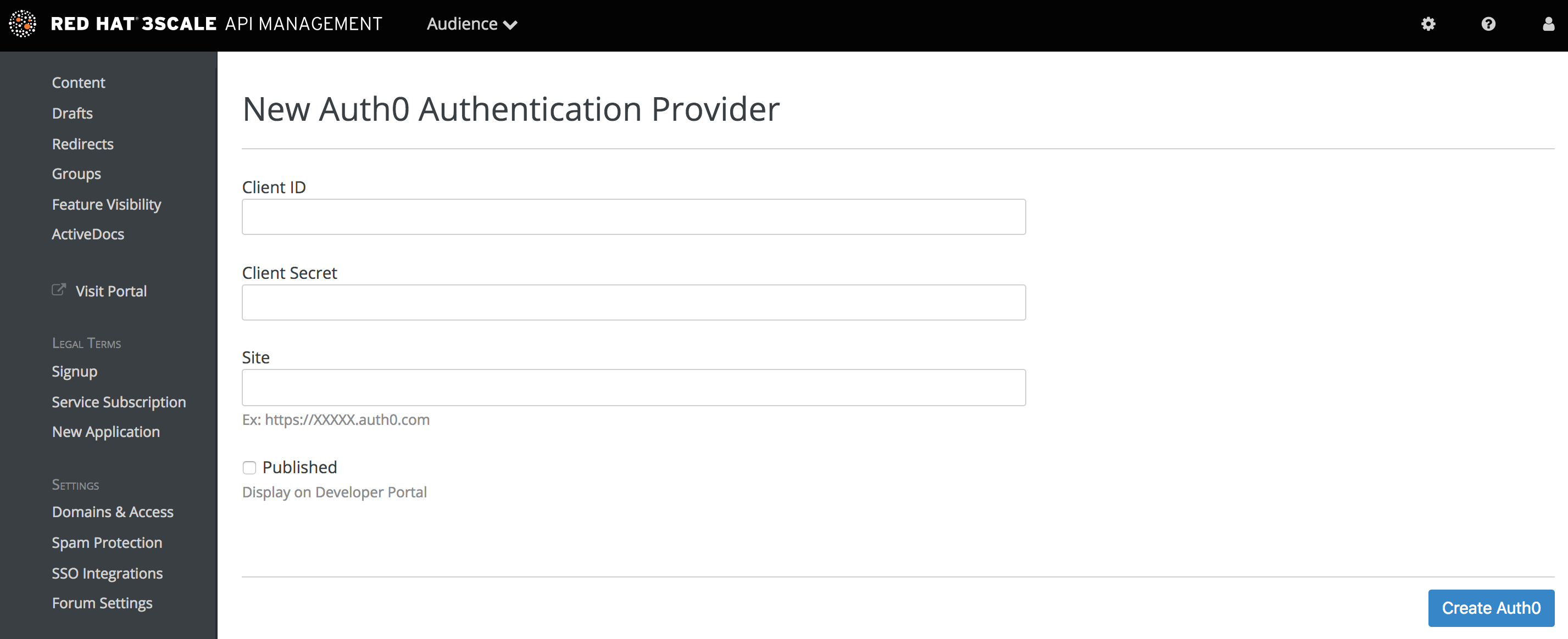 SSO with Auth0