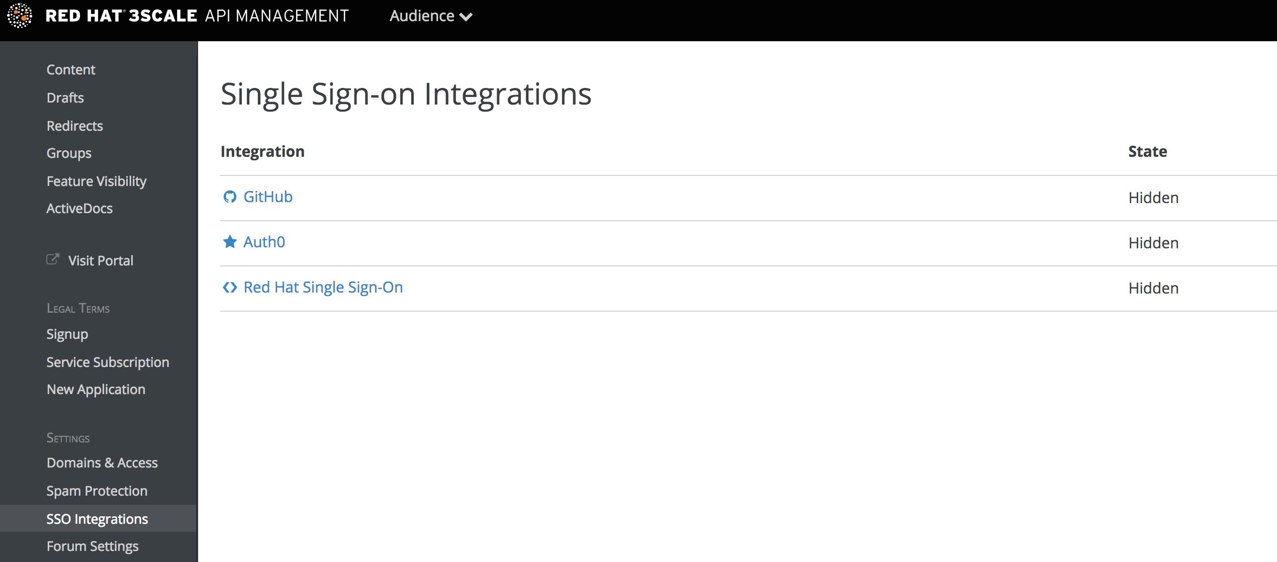 SSO integrations