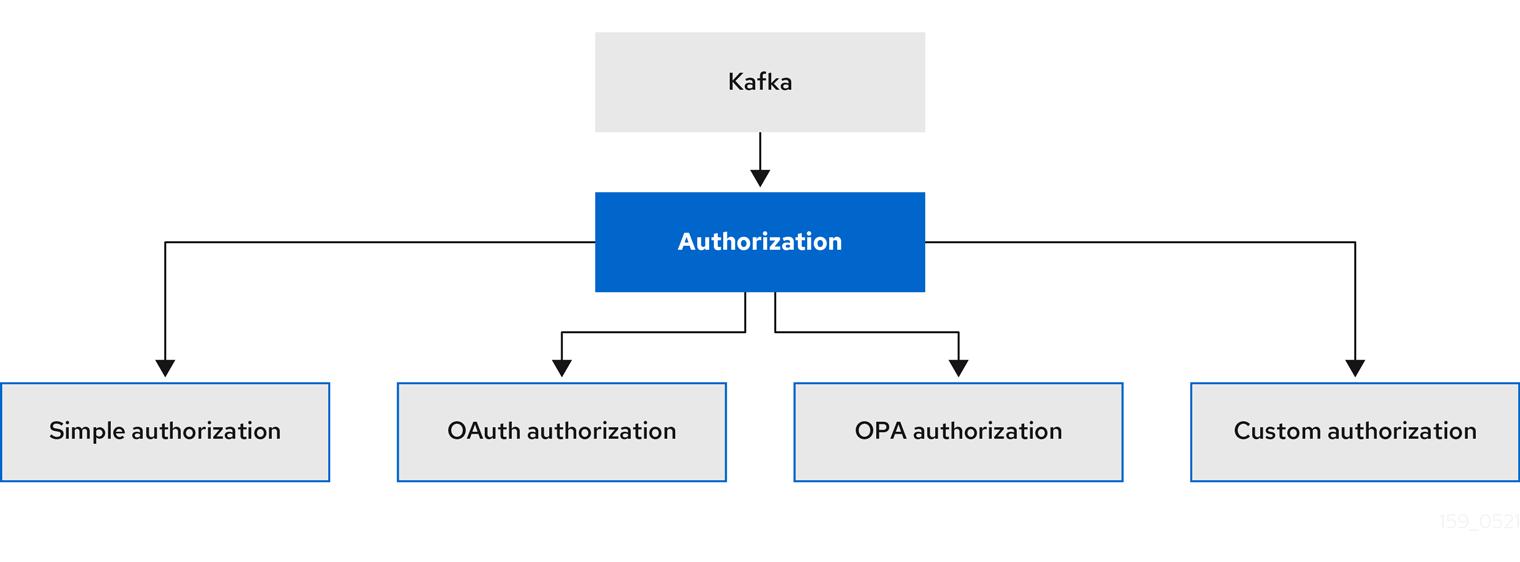 options for kafks authorization configuration